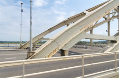 Bro för stålbåge Royaltyfri Fotografi