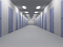 Büro-Fußboden Lizenzfreies Stockfoto