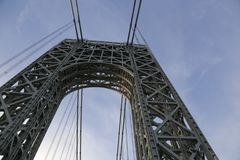 bro George Washington Arkivbild