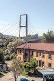 Bro i Asturias Arkivbild