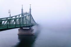 Bro i Budapest arkivfoton