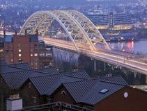 Bro i Cincinnati Arkivbilder