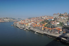 Bro i den Porto staden Royaltyfri Fotografi