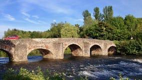 Bro i Devon Arkivfoton