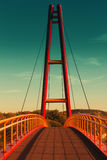 Bro i Ilmenau Arkivfoton
