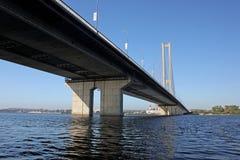 Bro i Kiev Arkivbilder