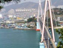 Bro i Korea Arkivfoto