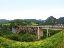 Bro i Montenegro Royaltyfri Foto