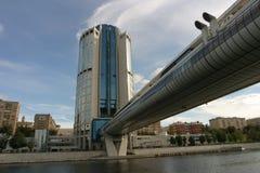 Bro i Moskva Royaltyfria Bilder
