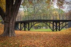 Bro i nedgången arkivbilder