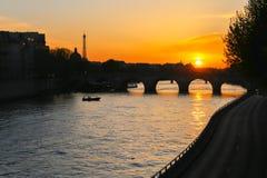 Bro i Rome, Italien Arkivbild