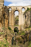 Bro i Ronda Arkivbilder