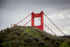 Bro i San Francisco Royaltyfria Bilder