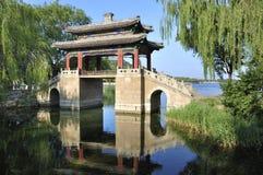 Bro i sommarslotten, Beijing arkivbilder