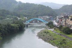Bro i Taiwan Arkivfoton