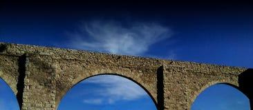 Bro i Teruel Spanien royaltyfria bilder