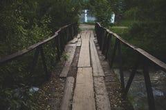 Bro i träna Fotografering för Bildbyråer