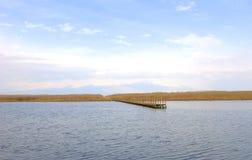 Bro i vasserna Fotografering för Bildbyråer