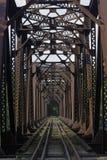 bro ingenstans till Royaltyfri Bild