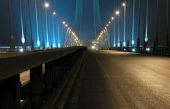 bro långt Arkivbilder