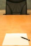 Büro: leer Lizenzfreies Stockbild