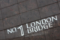 bro london Royaltyfri Bild