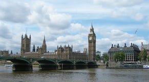 bro london uk westminster Arkivfoton