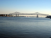 bro New Orleans Arkivbild