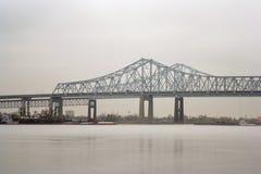 bro New Orleans royaltyfri foto