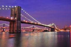 bro New York Royaltyfri Fotografi