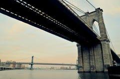 bro New York Royaltyfria Foton