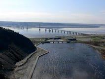 bro orleans till royaltyfri foto
