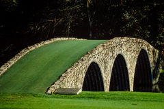 Bro på Augusta arkivfoton