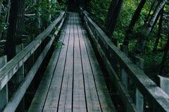 Bro på broar Arkivfoto