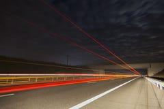 Bro på en huvudväg Royaltyfri Foto
