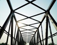 Bro på morgonen Royaltyfria Bilder