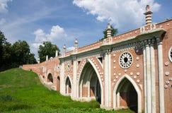 Bro på Tsatitsino arkivfoto