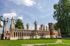 Bro på Tsatitsino royaltyfria bilder