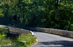 Bro på vägen till Hana, Maui, Hawaii Fotografering för Bildbyråer