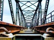 Bro på Yala Royaltyfri Foto