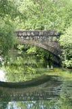 bro pittoreska luxembourg Fotografering för Bildbyråer