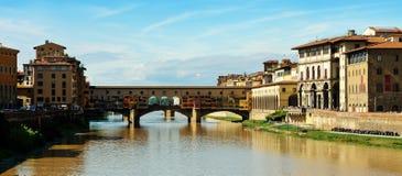 Bro Ponte Vecchio Fotografering för Bildbyråer