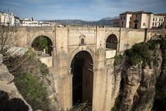 Bro ronda Spanien Arkivbild
