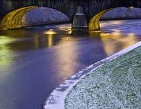 bro stockholm Fotografering för Bildbyråer