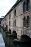 bro strasbourg Arkivfoto