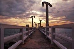 Bro till ett ny hopp och framgång arkivbild