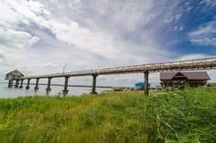 Bro till laken Fotografering för Bildbyråer