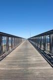 Bro till oändligheten Fotografering för Bildbyråer