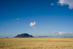 Broad acres and vastness in Namibia Stock Image