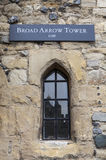 Broad Arrow Tower at the Tower of London Royalty Free Stock Image